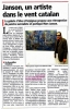 Marc Janson article de presse